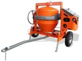 Altrad LESCHA Betonmischer AT 350 Benzin 340l mit Straßenfahrwerk - 1
