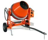 Altrad Lescha Betonmischer AT 480 Diesel 480L mit Straßenfahrwerk 25km/h *NEU* - 1