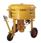 Zwangsmischer Betonmischer 300L SoRoTo Made in Europa - 1