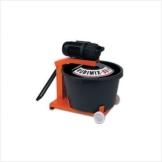 Zwangsmischer Rubimix-50-N 230 V 50 Hz 880 Watt fahrbar - 1
